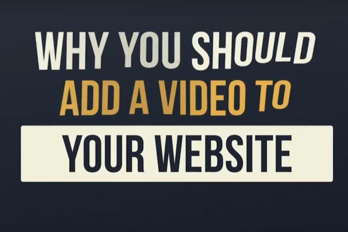 Why Use Video On A Website